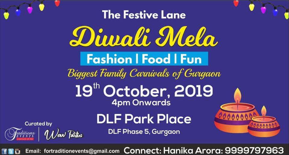 events-delhi-october-DLF_Park_Place_Diwali_Mela.