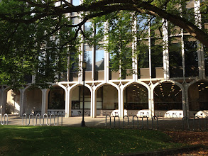 Photo: Suzzallo Library (addition) Bindon and Wright 1963