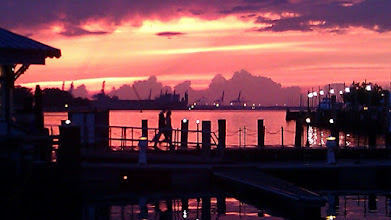 Photo: Sunset Norfolk VA 5/16/2102