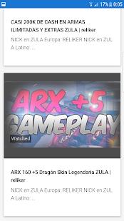reliker YouTube - náhled