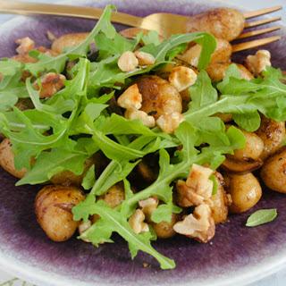 Pan-Toasted Balsamic Mushroom Gnocchi [Vegan]