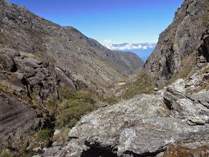 Photo: View down-valley towards Laguna Coromoto