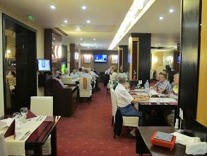 Photo: Rou4HR107-150930Bucarest, hôtel Minerva, restaurant, dîner, salle IMG_8587