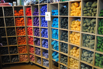 Photo: In Knit by Numbers you can chose subtle color nuances... I love this idea and I love the yarn!