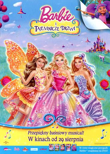 Przód ulotki filmu 'Barbie i Tajemnicze Drzwi'