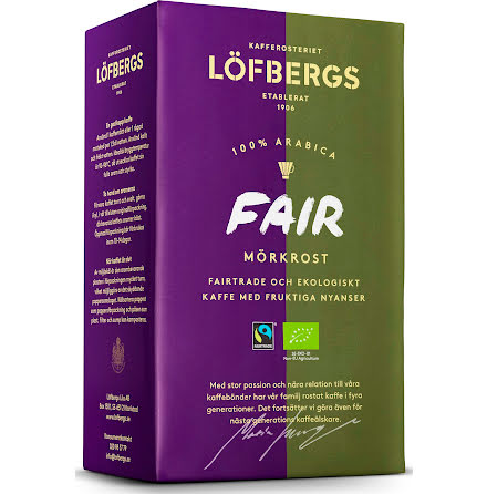 Kaffe Löfbergs Fair mö.450gEko