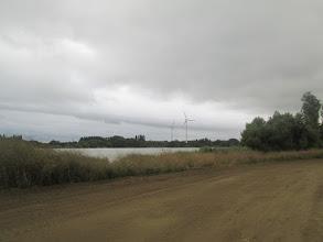Photo: zicht op Schelle en de Schelde
