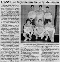 Photo: 11-04-97 Saison difficile pour les cadets