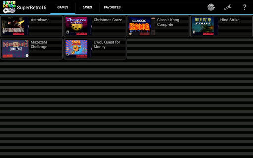 SuperRetro16 (SNES Emulator) 2.0.9 screenshots 8