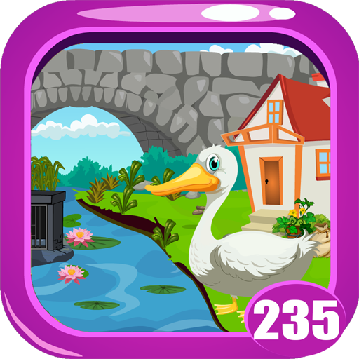 Cute Swan Rescue Game Kavi - 235