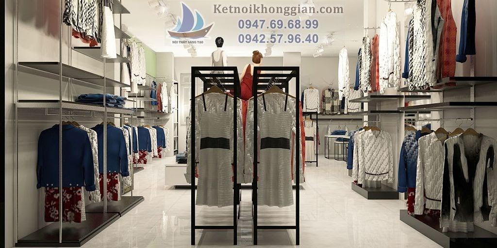 thiết kế shop thời trang chuyên nghiệp tại đường Láng