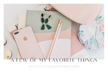 My Favorite Things - Postcard template