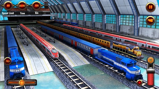 Train Racing Games 3D 2 Player 5