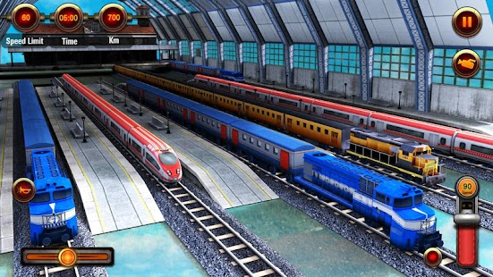 Stupendous Train Racing Games 3D 2 Player Android Apps On Google Play Short Hairstyles Gunalazisus