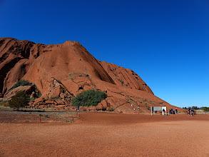 Photo: Uluru - The climb to the top.