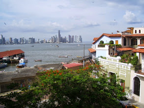 Photo: View from Luna's Castle, the hostel where we stayed in Panama City