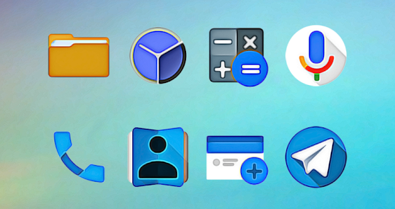 WaterColors - Icon Pack v1.0.8