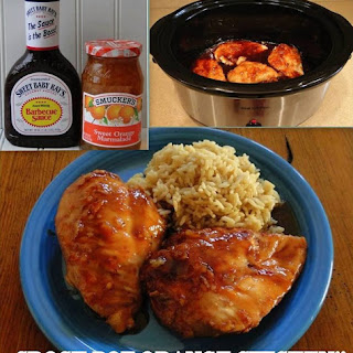 Easy Crock Pot Orange Chicken! Recipe