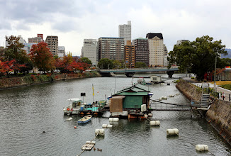 Photo: Ihan tavallista nykypäivän Hiroshimaa