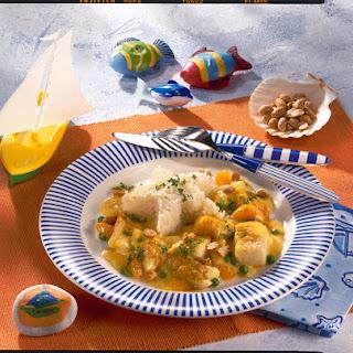 Cod and Mandarin Orange Curry.