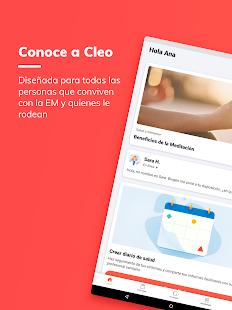 Cleo, mi aplicación para la Esclerosis Múltiple Screenshot