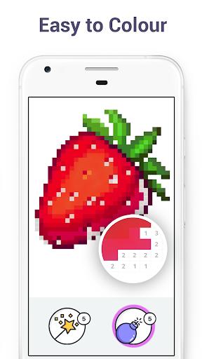 Pixel Art - Colour by Number Book 2.1.2 screenshots 3