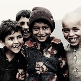 Real Happiness by XeeShan Ch - Babies & Children Children Candids ( pakistan, birangali to nathiagali, highest mountain of galiyat, trekking, happiness, kids, smile, nathiagali, miranjani, portrait )