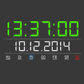 Digital Clock Widget Pro
