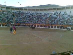 Photo: En los toros, tercero de la tarde y a merendar, Ceheg�n (Murcia)-desde mi Nokia E61i