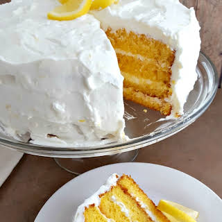 Gluten Free Lemon Layer Cake.