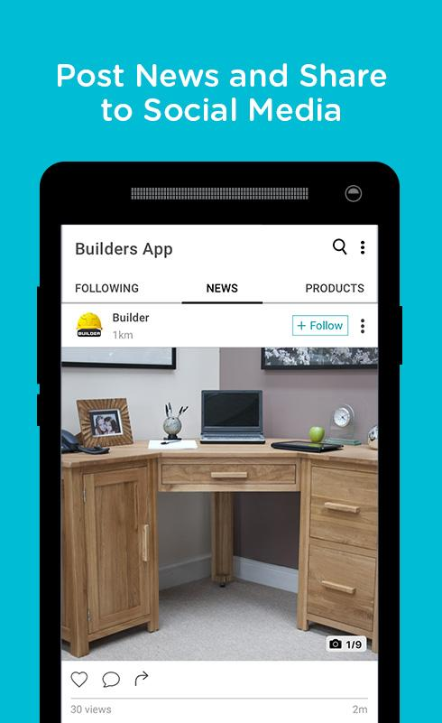 Builders App- screenshot