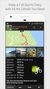 Sports Tracker Running Cycling - náhled