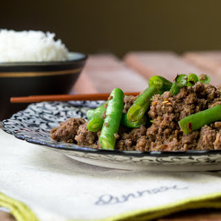 Beef and Green Bean Stir Fry