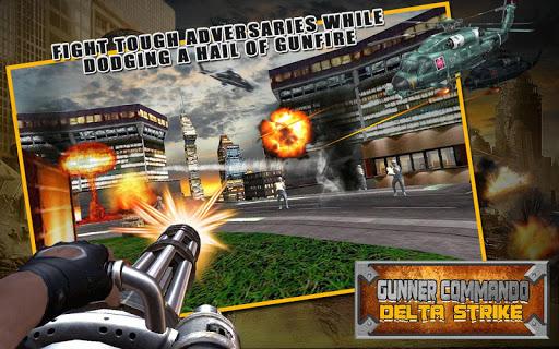 Gunner Commando:Delta Strike