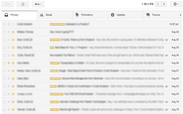 Gmail Domain Tags