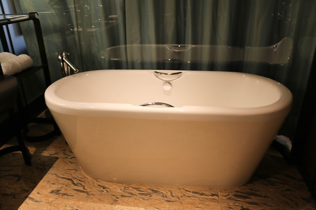Bathtub at the MGM Macau