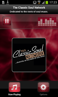 The Classic Soul Network- screenshot thumbnail