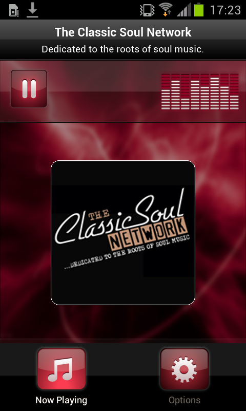The Classic Soul Network- screenshot