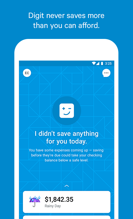 Digit Save Money Automatically- screenshot