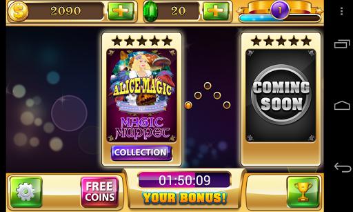 Alice in Magic World - Slots - Free Vegas Casino 1.6.0 screenshots 2