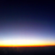Photo: View of Ecuadorian sunset from plane on way to Madrid.  Ecuador, August 2012.