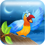 Parrot Jump Icon