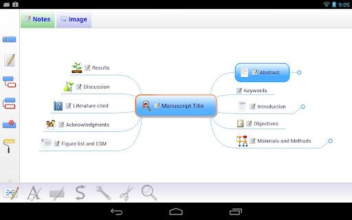 Mindjet for Android screenshot 5