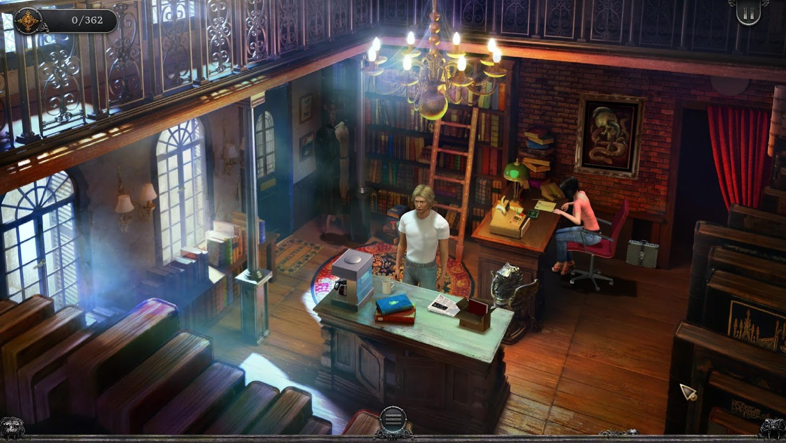Gabriel Knight Sins of Fathers- screenshot
