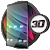 Glass theme & glass icon pack + amoled wallpapers file APK Free for PC, smart TV Download