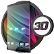 Glass theme & glass icon pack + amoled wallpapers for PC-Windows 7,8,10 and Mac