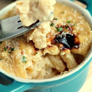 Uncooked Macaroni.