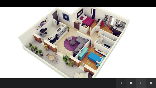 3Dハウスプラン