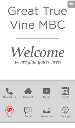 Great True Vine MBC