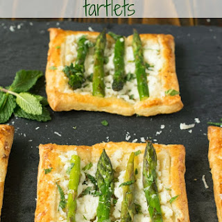 Asparagus, Ricotta And Mint Tartlets